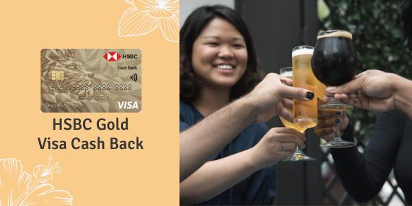 Credit Cards for Women - HSBC Gold Visa Cash Back