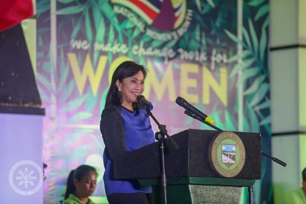 Outstanding Women in the Philippines - Leni Robredo