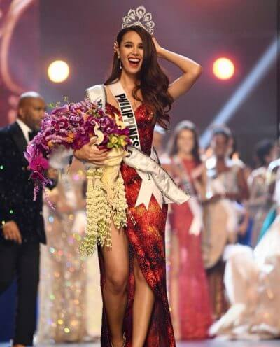 Outstanding Women in the Philippines - Catriona Gray