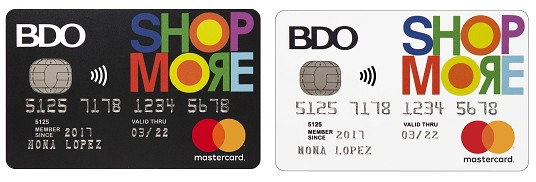 Best Credit Cards for Women Philippines - BDO ShopMore Mastercard