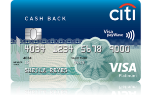 Best Credit Cards for Women Philippines - Citi Cash Back