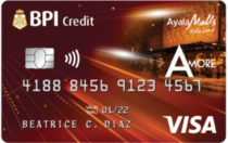 Best Credit Cards in the Philippines - BPI Amore Visa