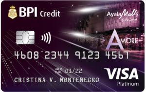 Best Credit Cards for Women Philippines - BPI Amore Visa Platinum