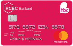 Best Credit Cards for Women Philippines - HBC-RCBC Bankard Mastercard