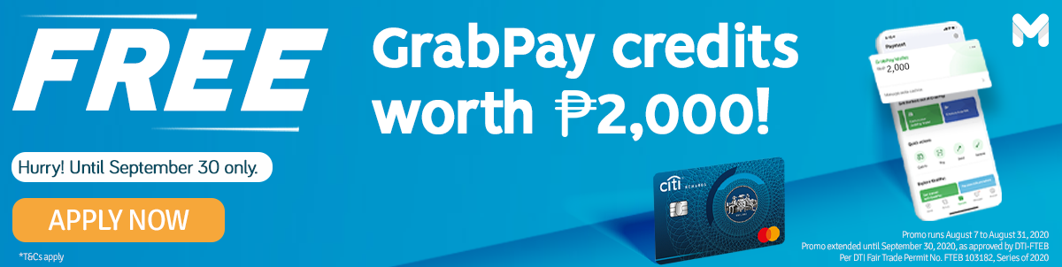 FREE GrabPay Credits from Moneymax!