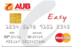 Top Credit Cards for First Timers in the Philippines - AUB Easy Mastercard
