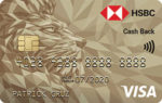 Credit Cards with No Annual Fee - HSBC Gold Visa Cash Back