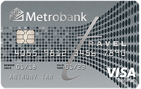 Metrobank Travel Platinum Visa