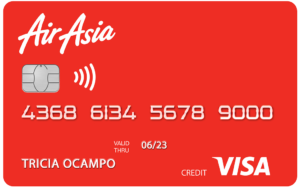 Best Travel Credit Cards - RCBC AirAsia Visa Credit Card