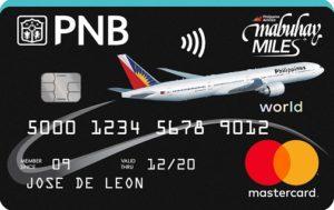 Best Travel Credit Cards - PNB-PAL Mabuhay Miles World Mastercard