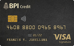 Best Travel Credit Cards - BPI Signature Visa