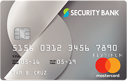 Best Travel Credit Cards - Security Bank Platinum
