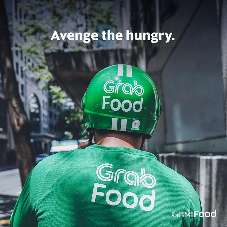 GrabFood Delivery Rider