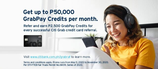 citibank credit card promo - citi grab credit card promo