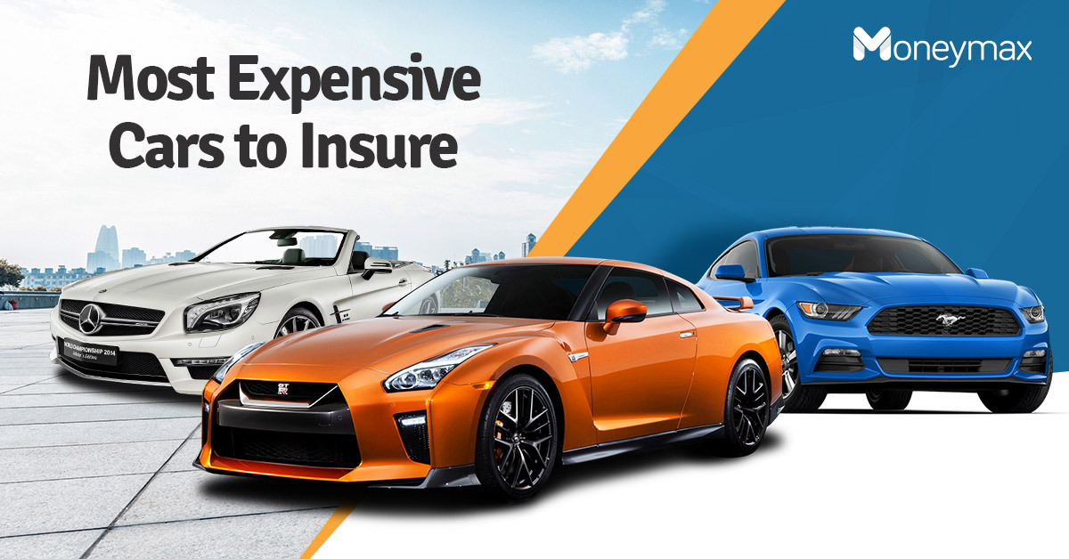 Most Expensive Cars to Insure | Moneymax