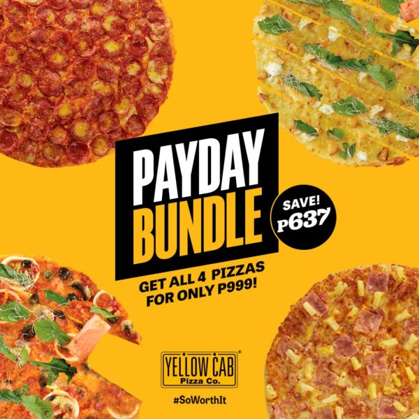 Payday Promos for Dining - Yellow Cab