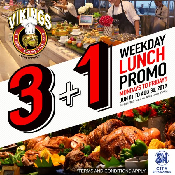 Payday Promos for Dining - Vikings
