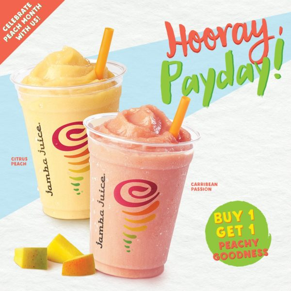 Payday Promos for Dining - Jamba Juice