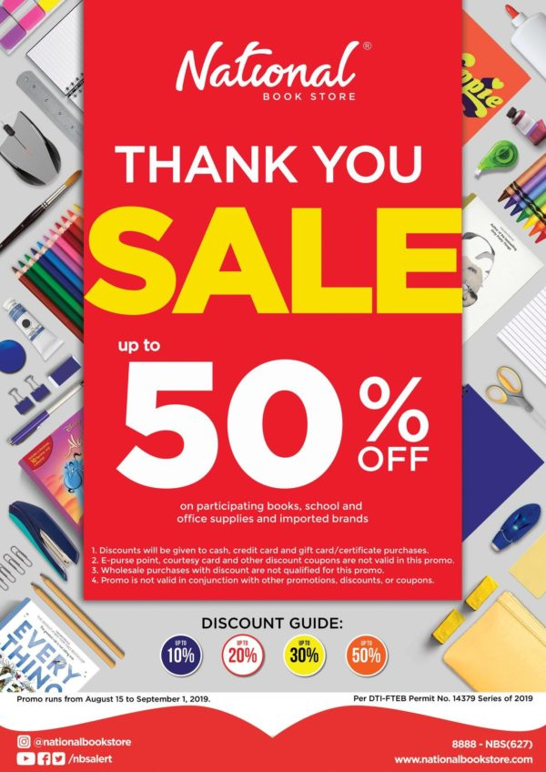 Payday Promos for Shopping - National Bookstore