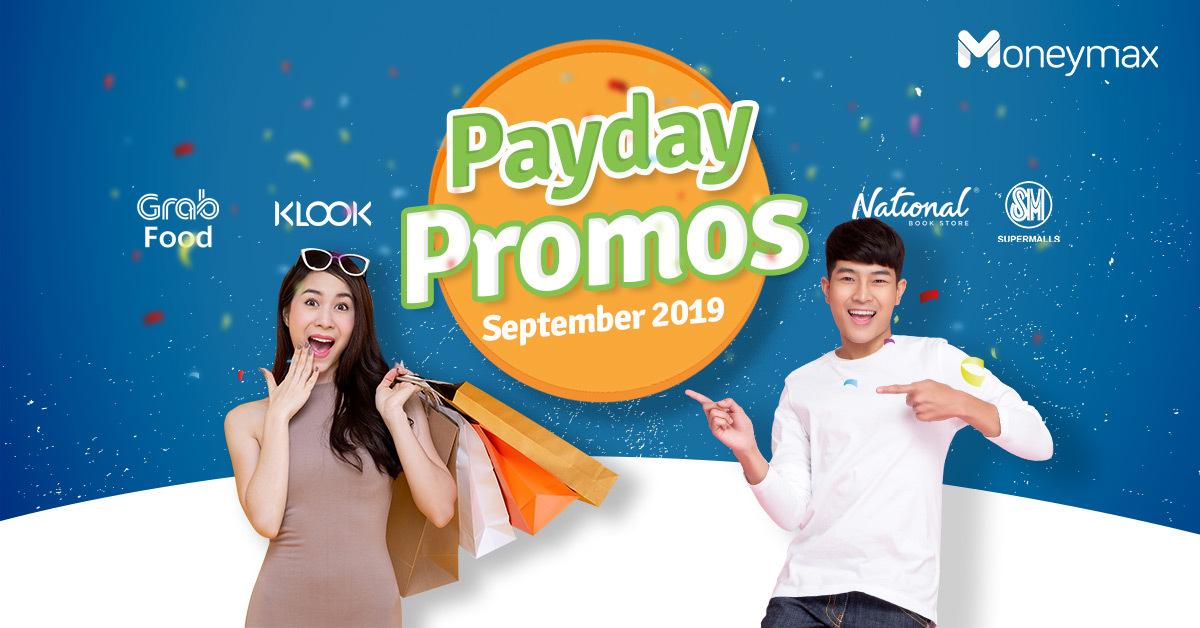 Payday Promos: Best Deals September 2019 | Moneymax
