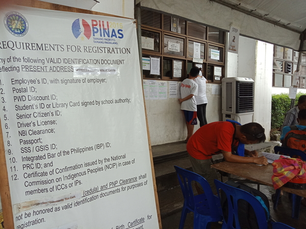 Voter's Registration 2019 Application Steps - Go to the Local Comelec Office