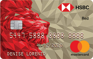 Best Credit Cards for Shopping - HSBC Red Mastercard