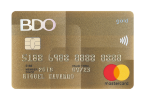 Best Credit Cards for Gadget Shopping - BDO Gold Mastercard