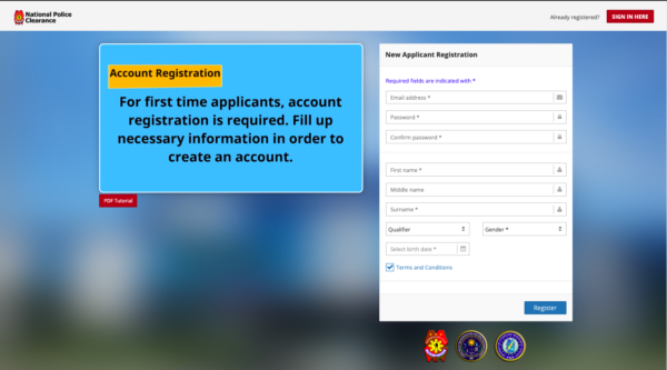 Police Clearance Online Application Guide for Filipinos - National Police Clearance System