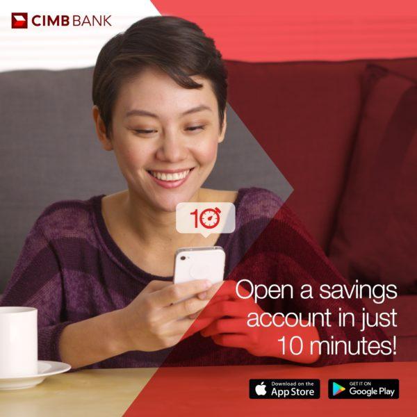 Savings Accounts with Low Maintaining Balance - CIMB Fast Account