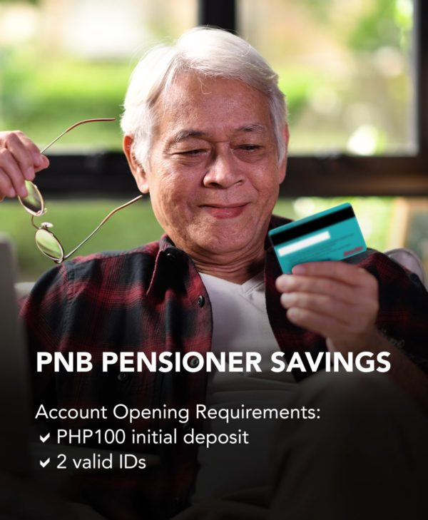 Savings Accounts with Low Maintaining Balance - PNB Pensioners Savings