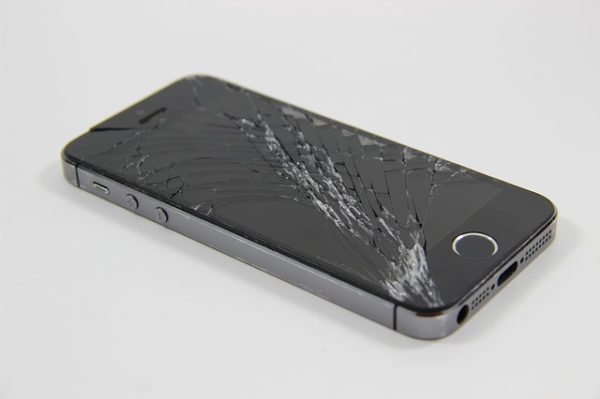 Damaged Phone Causes - Dropping on the Ground