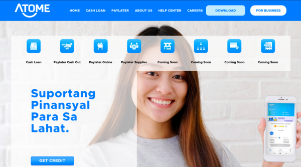Online Loans in the Philippines - Atome Credit Cash Loan