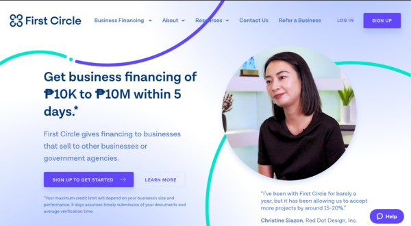Online Loans in the Philippines - First Circle Business Loan