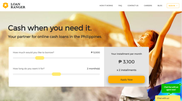 Online Loans in the Philippines - Loan Ranger Cash Loan