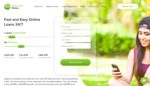 Online Loans in the Philippines - Online Loans Pilipinas