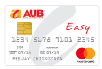 Rewards Credit Cards - AUB Easy Mastercard