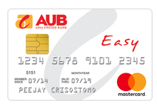 Best Credit Cards for Shopping - AUB Easy Mastercard