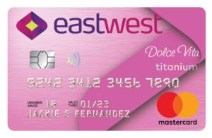 Best Credit Cards for Shopping - EastWest Dolce Vita Titanium Mastercard