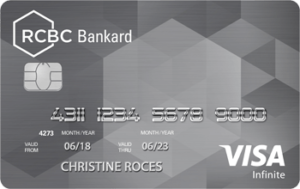 Best Credit Cards for Shopping - RCBC Bankard Visa Infinite