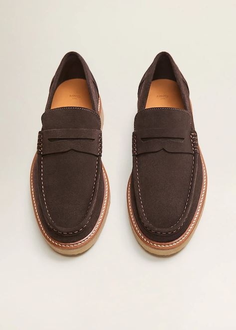 Car Gifts - Mango Volume Sole Suede Moccasins