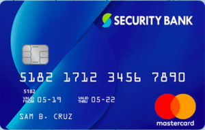 Rewards Credit Cards - Security Bank Classic Rewards Mastercard