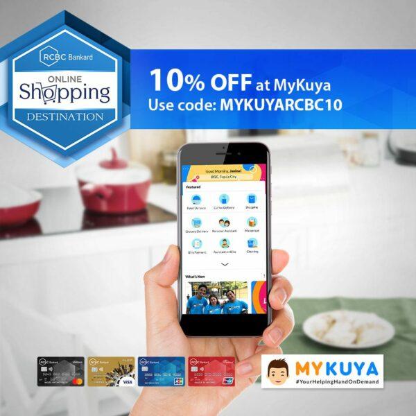 Credit Card Promos 2020 - RCBC MyKuya Promo