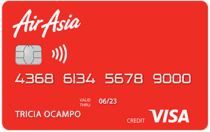 Best Credit Cards in the Philippines - AirAsia Credit Card
