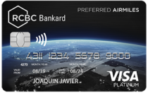 Best Credit Cards in the Philippines - RCBC Bankard Visa Platinum