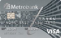 Best Credit Cards in the Philippines - Metrobank Travel Platinum Visa