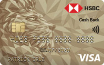 Best Credit Cards in the Philippines - HSBC Gold Visa Cash Back
