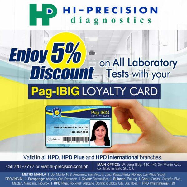 Pag-IBIG Loyalty Card - Hi-Precision Diagnostics