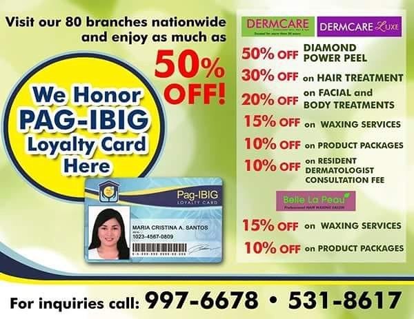 Pag-IBIG Loyalty Card - beauty and wellness