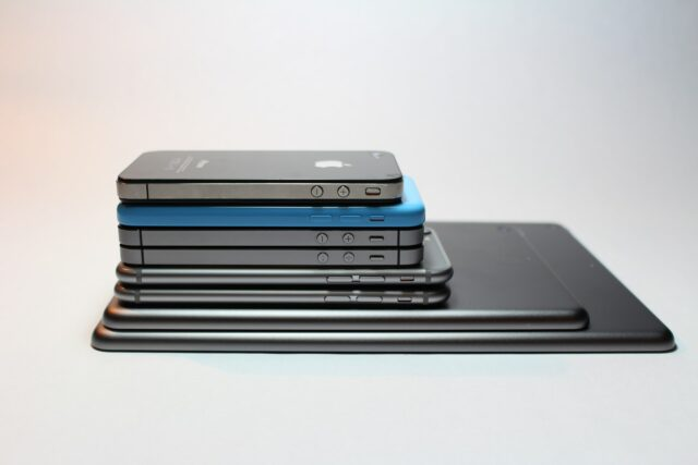 Gadget Protection Plans - stack of apple devices