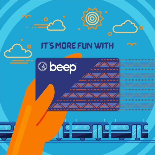Beep Card Designs - Local Weave Beep Card